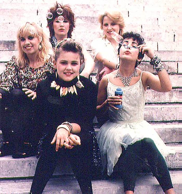 In the 80s, America's Sweethearts.