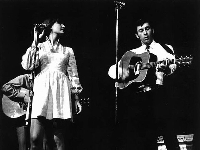 Ian & Sylvia - part of an all-star lineup that particular hot August night.