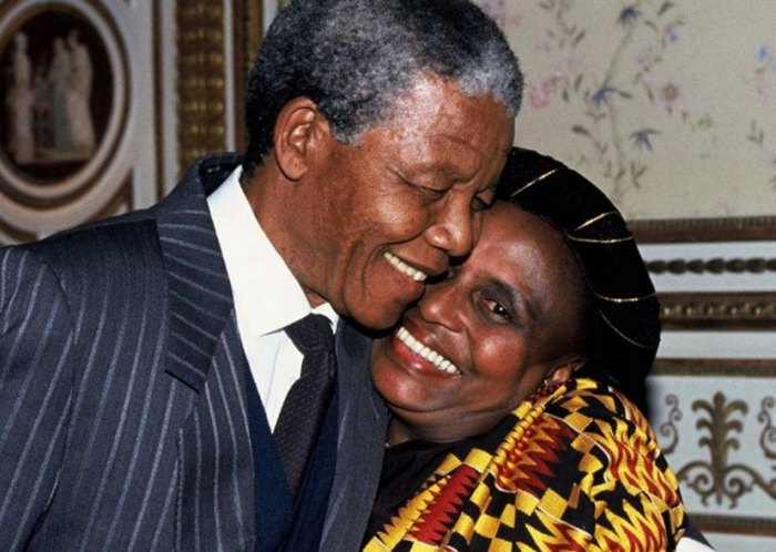 Miriam Makeba and Nelson Mandela. Cut from the same cloth.