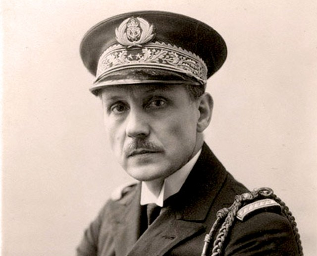 Rear Admiral Jean Cras - also an accomplished composer.