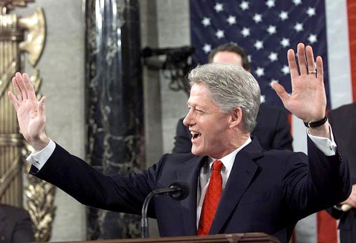 In 1995 the State of The Union was . . . meh.