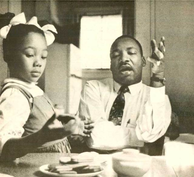 Dr. King - leaving a legacy for future generations.