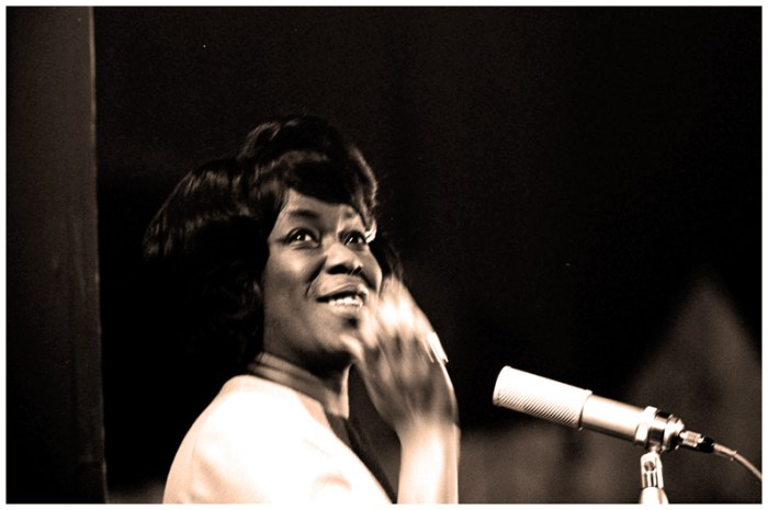 Sarah Vaughan - during a time when heavenly voices routinely walked the earth.