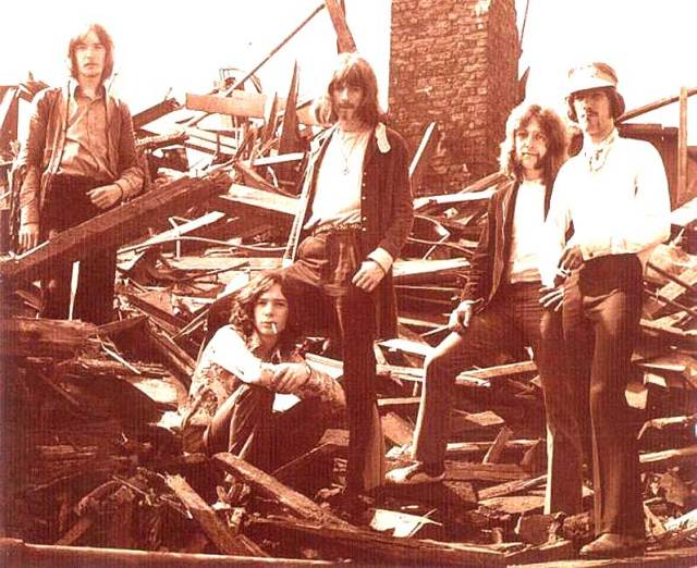 Savoy Brown - part of the British Blues Explosion of the 60s . . .and then some.
