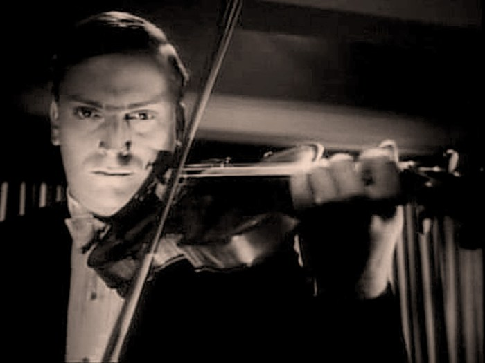 Yehudi Menuhin - playing the 2nd Violin Concerto.