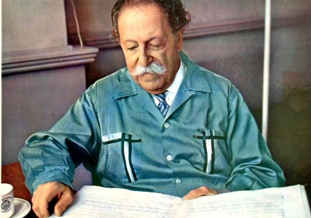 Pierre Monteux - another conductor much liked by musicians.