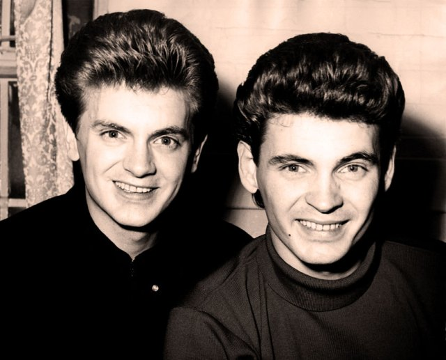 The Everly Brothers - synonymous with the Golden Age of Rock n' Roll.