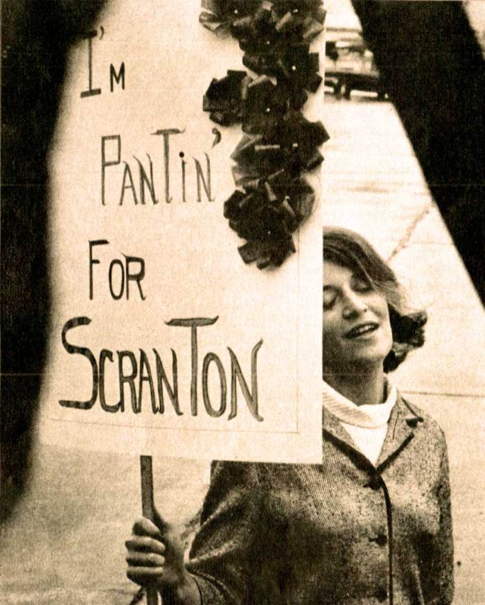 The 1964 Silly Season was in full swing.