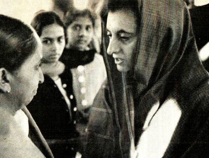 Indira Gandhi - the legacy continues.