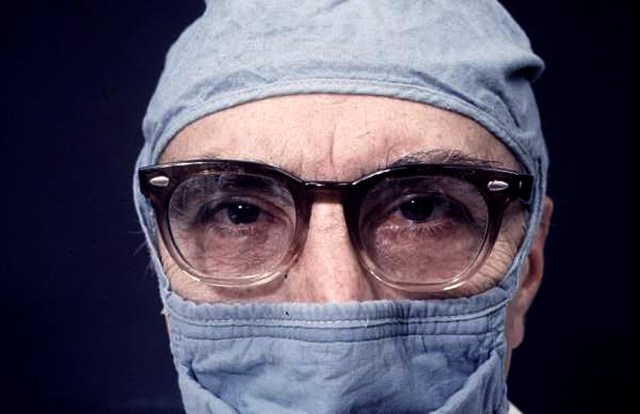 Heart Surgeon Dr. Michael DeBakey - looking forward to being unemployed some day.