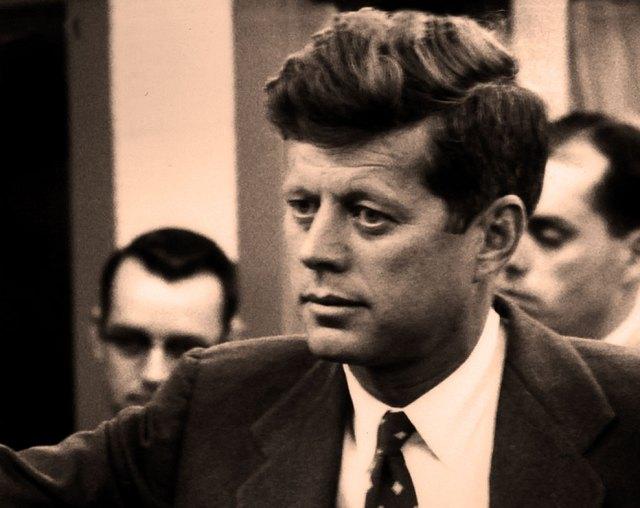 Senator John F. Kennedy - revamping Taft-Hartley.