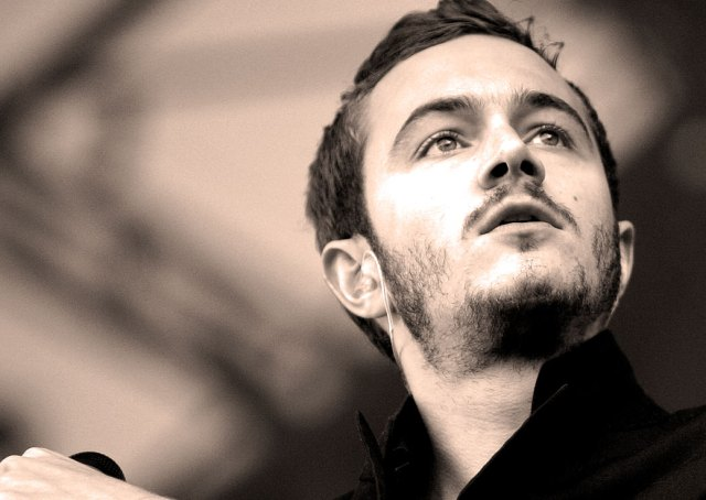 Tom Smith of Editors - a highlight among highlights at this years Pinkpop.