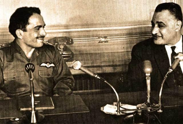 Jordan's King Hussein and Egypt's President Nassar - trigger fingers had a veritable rash.