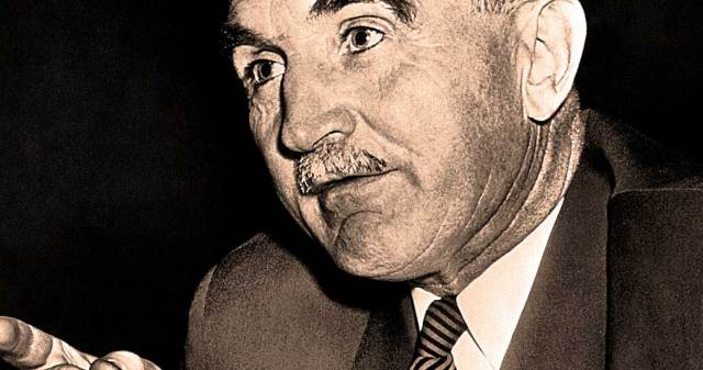 Sen. Wayne Morse - one of the earliest and most vocal critics of the Vietnam War.