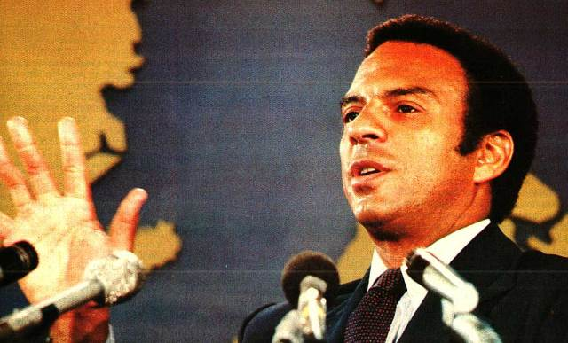 Andrew Young - an abrupt resignation and a wave of shaking heads.