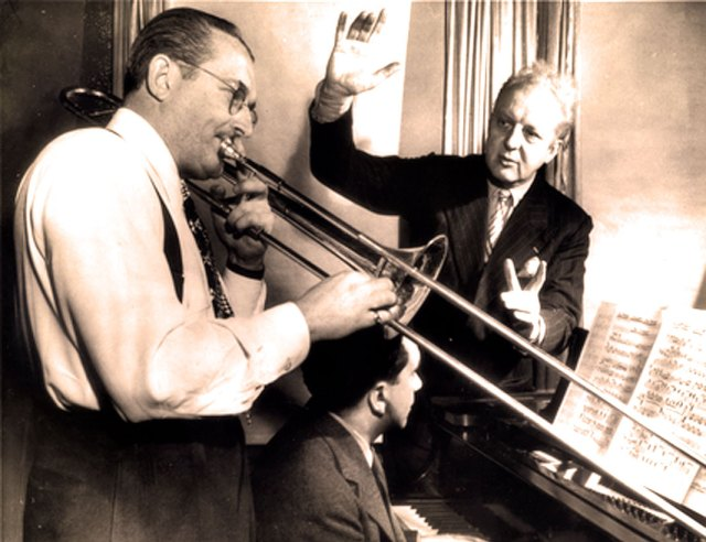 Stoki and the dedicatee (but not soloist on this performance) Tommy Dorsey.