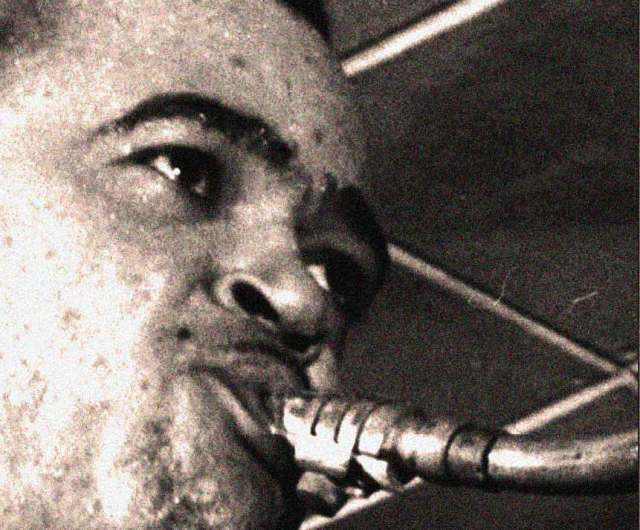 Arnett Cobb - blowing a few cool ones in our direction.