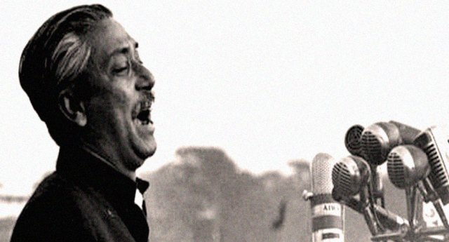 Sheikh Mujibur Rahman - One of the leading figures in Pakistan politics in the 1970s.