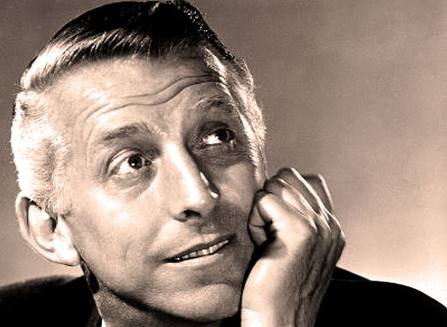 Stan Kenton - bringing his New Concepts of Rhythm message to Teenage audiences in the early 1950s.