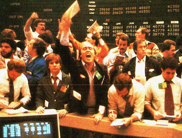 Another day of lunacy on Wall Street.