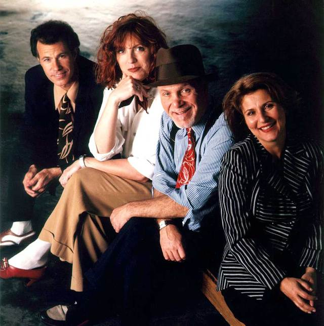 Manhattan Transfer - one of the finest vocal Jazz ensembles in America. Sadly missing one tonight.