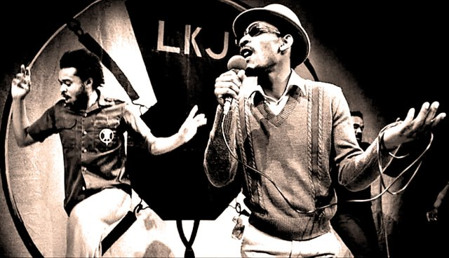 Linton Kwesi Johnson - The political act of Writing - the political weapon of Poetry.
