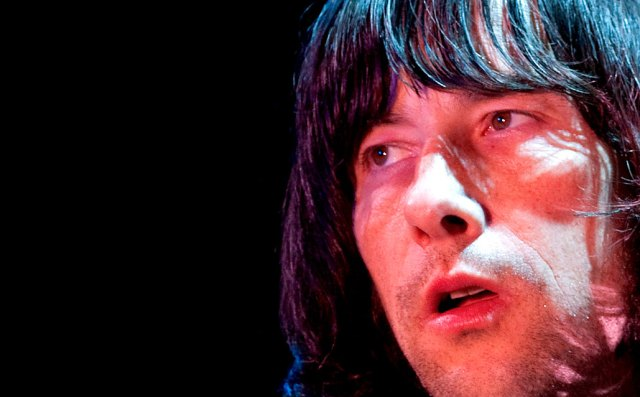 Bobby Gillespie of Primal Scream - chaotic and constantly evolving.