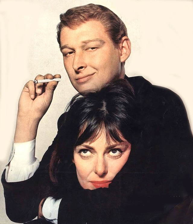 Before getting bitten by the Directing bug, a Comedy duo with Elaine May.