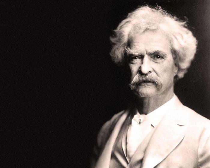 Mark Twain - on November 30th he'll be 179.