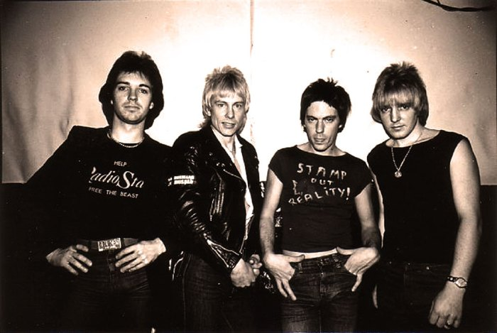 Radio Stars -  trading in Glam for New Wave.