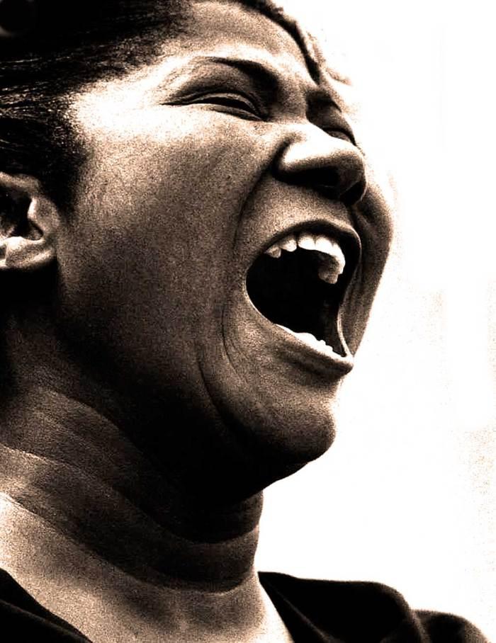 Mahalia Jackson - The face and voice of Gospel.