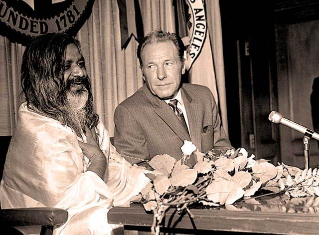 Sam Yorty and freind (Maharishi Mahesh Yogi) - L.A. has had no shortage of colorful characters in office.
