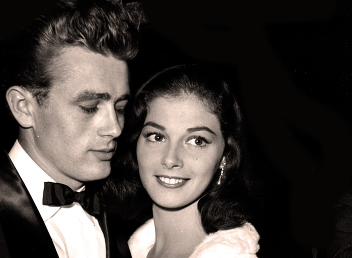 Pier Angeli (with James Dean) - 1950s  Star On The Rise.