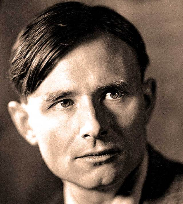 Christopher Isherwood - one of the leading figures of the Revolution in Literature between the World Wars.