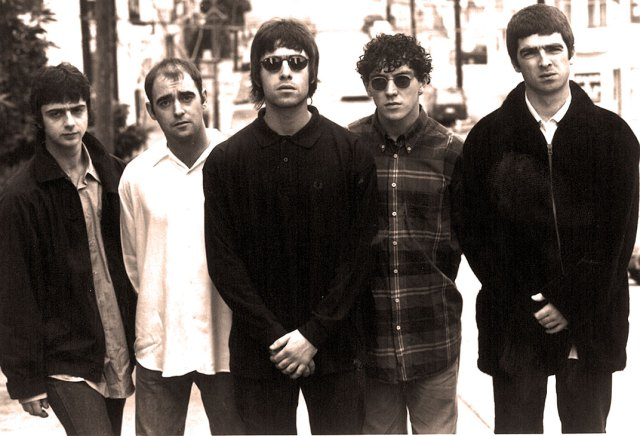 Oasis - and the 90s were well underway.