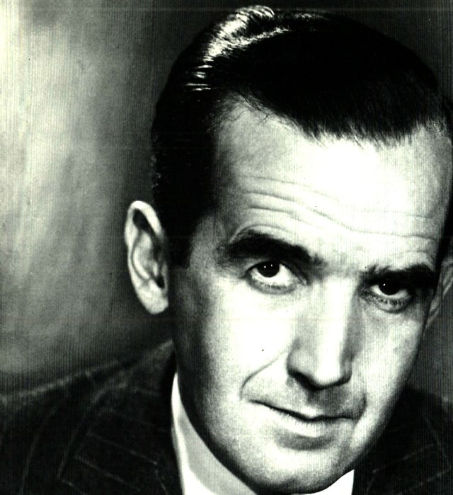 Edward R. Murrow - the voice of calm - the voice of reason.