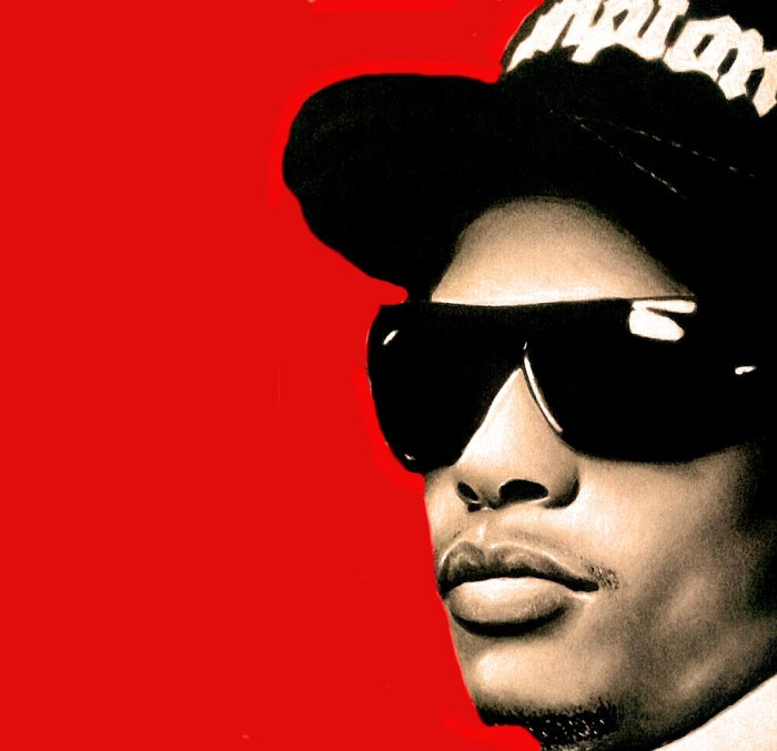 Eazy E. - His death came as a shock and a wakeup call.