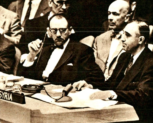 Dr. Farid Zeineddine - The Cold War took on many different roles.