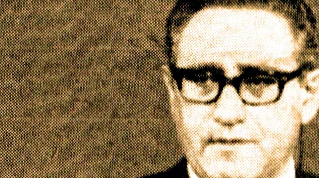 Secretary of State Henry Kissinger -  threats weren't even thinly veiled.