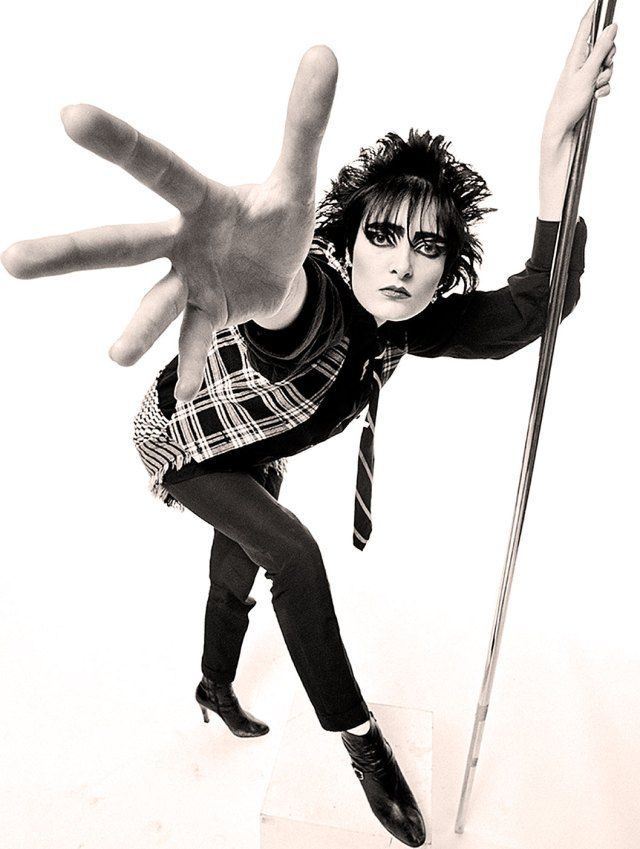 And for your dining and dancing pleasure . . .Siouxsie!
