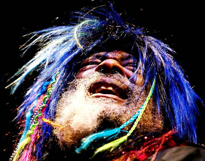 George Clinton - Blowin' Funky minds.