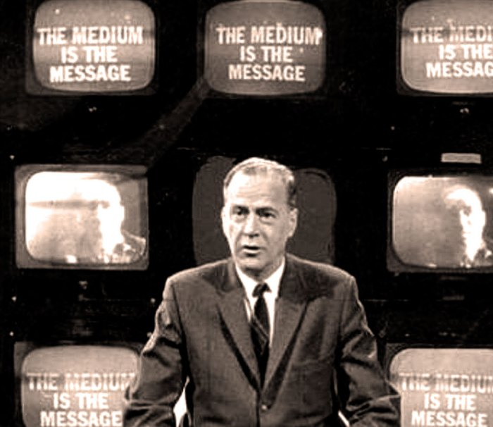 Marshall McLuhan - the mind fairly reels what he'd be thinking of today.