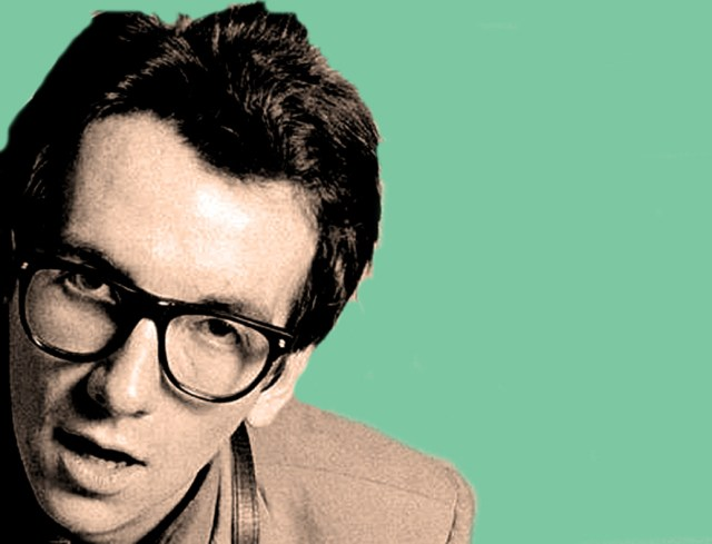 Elvis Costello - 1977's new face of Punk.