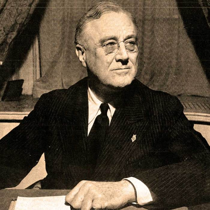 President Roosevelt -  Addressing Congress on its 150th birthday.