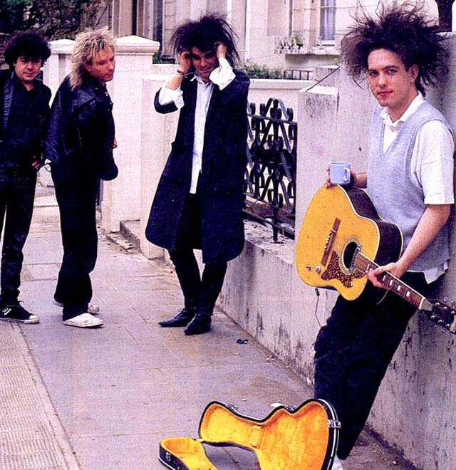 The Cure - in 1986, after 10 years of the slog; International stardom.