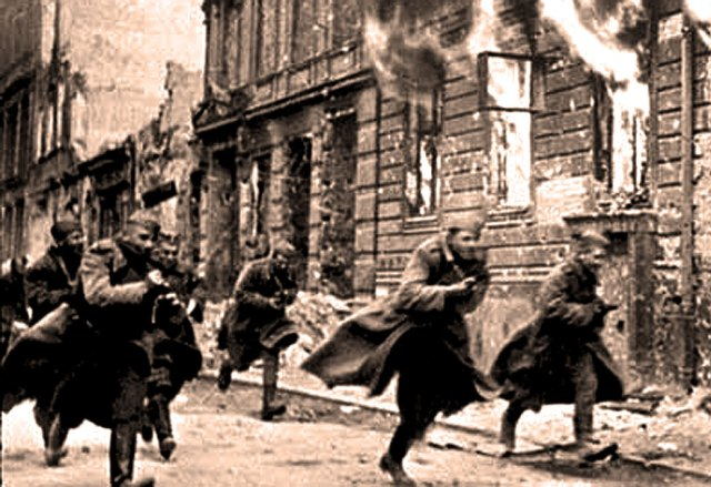 Meanwhile, Germans in the  thousands were racing to be captured by Americans.