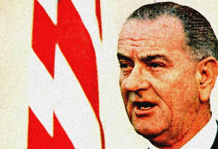 "LBJ - ""This will be a disorderly planet for a long time""."
