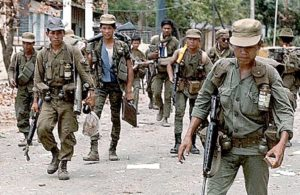 Cambodia Government troops