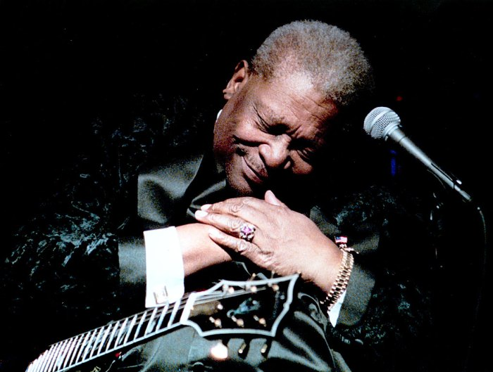 BB King -  A special place in everyone's hearts.