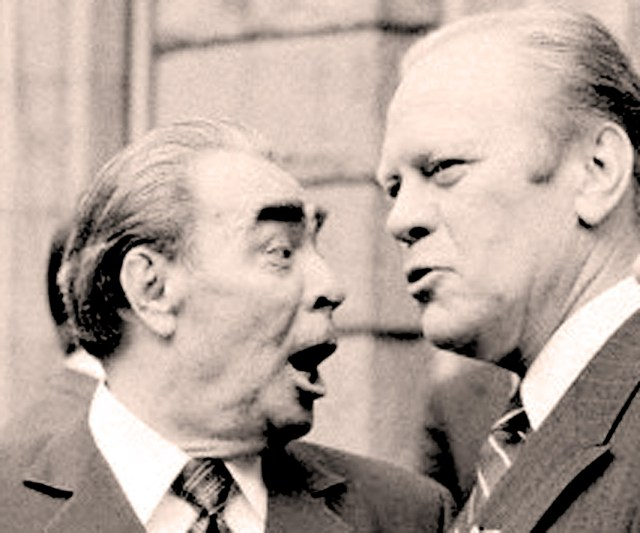 Brezhnev and Ford -  Accords will be accords.